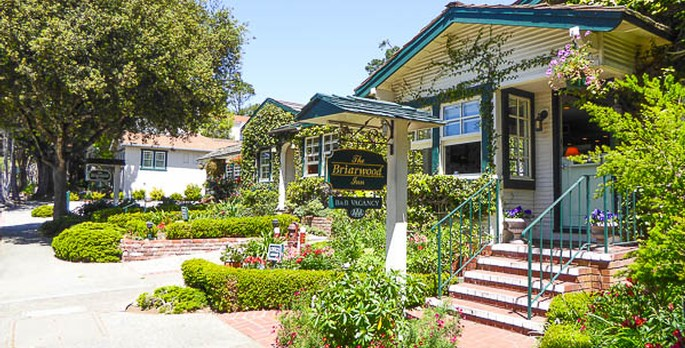 Briarwood Inn Bed Breakfast Carmel By The Sea California